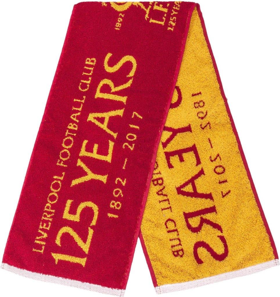 利物浦球會125周年紀念版毛巾。