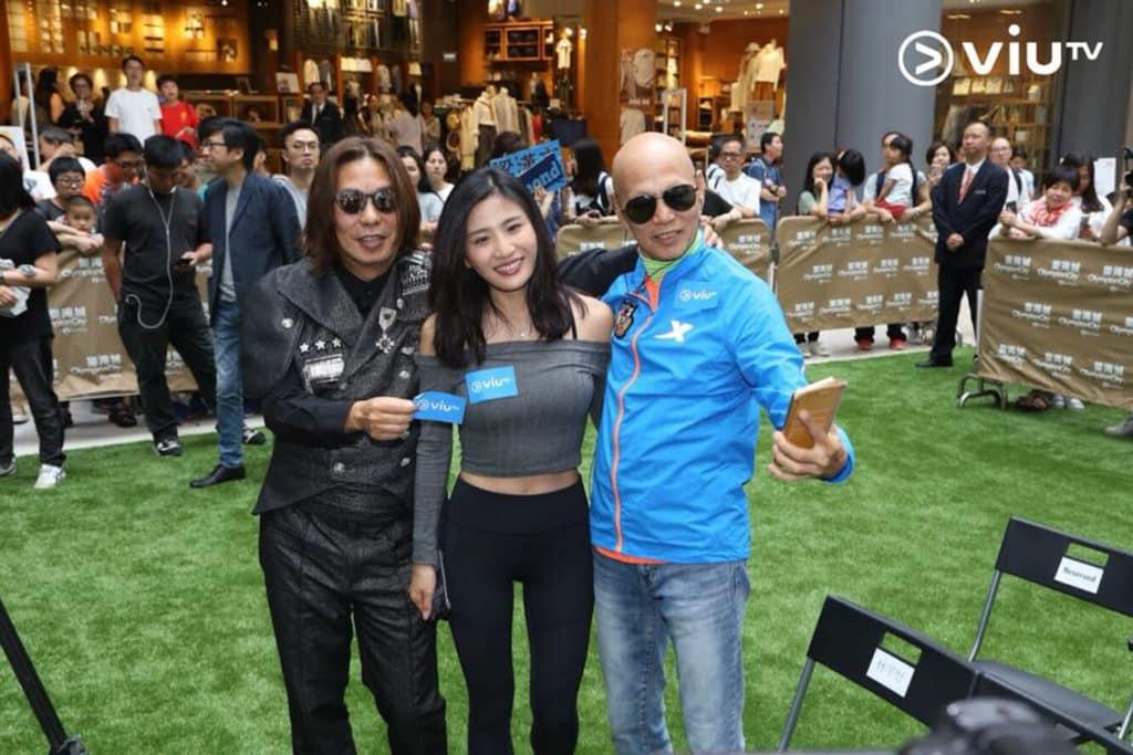 節目主持林敏驄、明星足球隊成員羅家英、嘉賓 Coffee 林芊妤一同出席活動發佈會。
