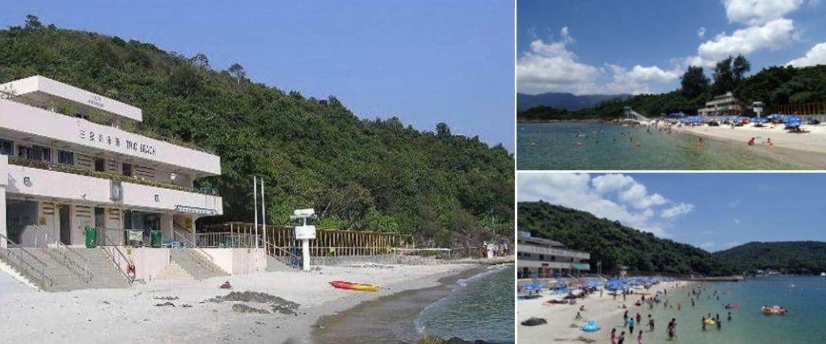 三星灣泳灘(圖片來源:康文署)