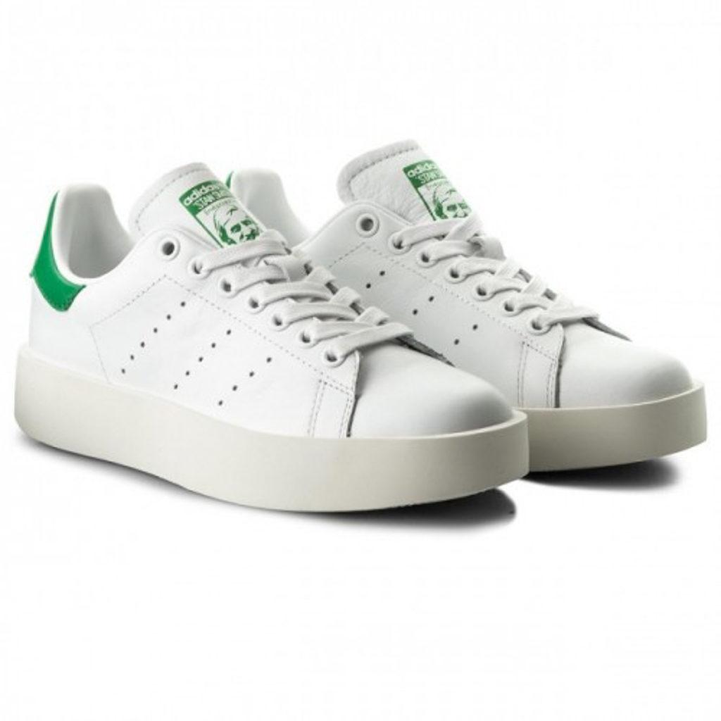 Boomsale 觀塘開倉 Adidas Stan Smith Bold W 童裝波鞋特價$449(原價$899)