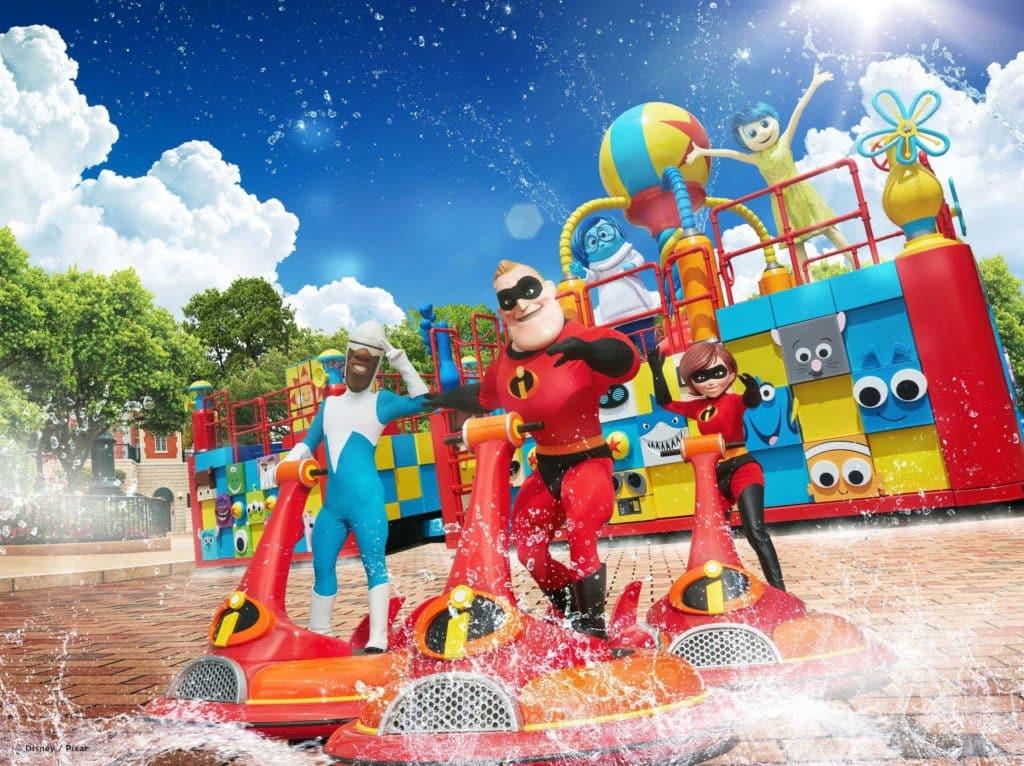 迪士尼巨星嘉年華-大玩水花
