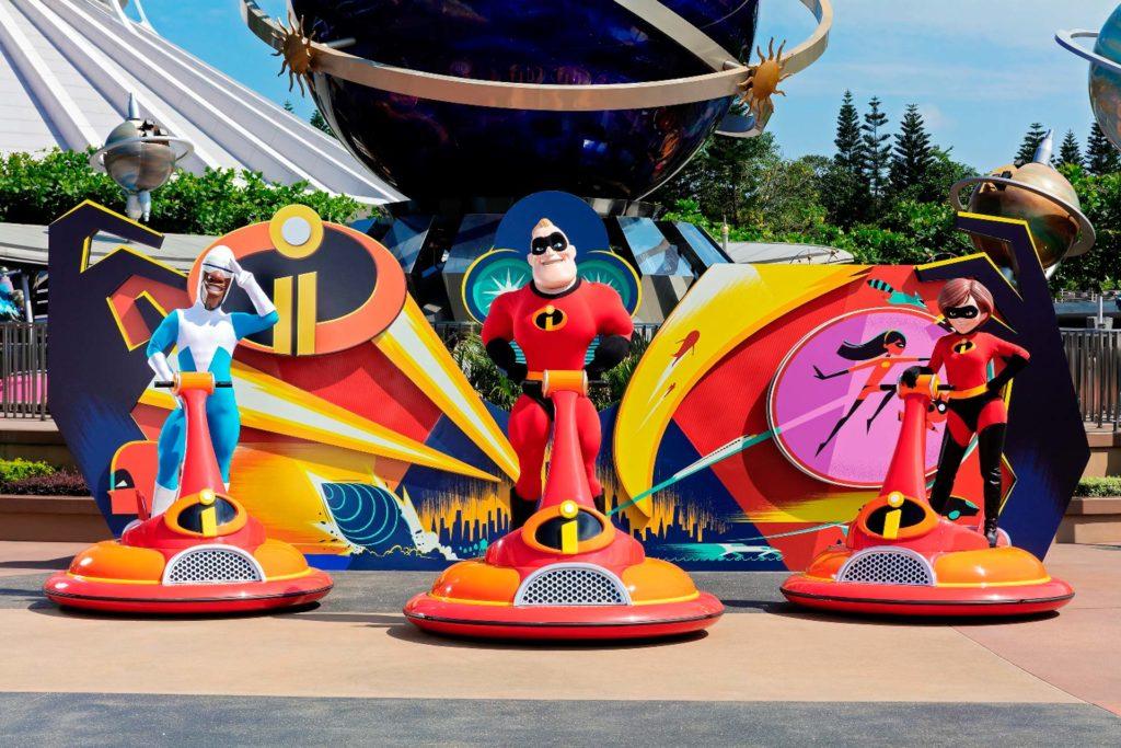 《超人特工隊》的超能先生、超能太太及冰條俠進駐明日世界。