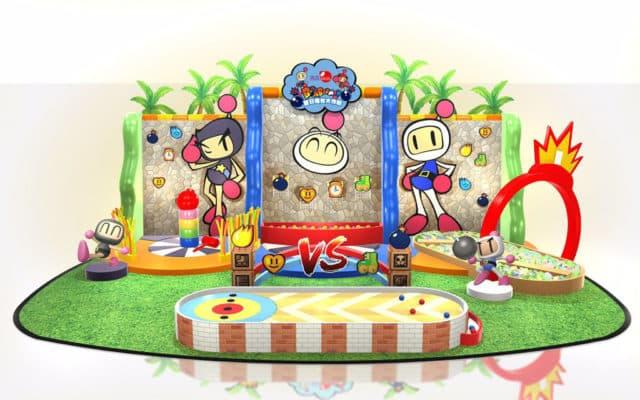 Bomberman 夏日擂台大作戰會場將設有攤位遊戲。
