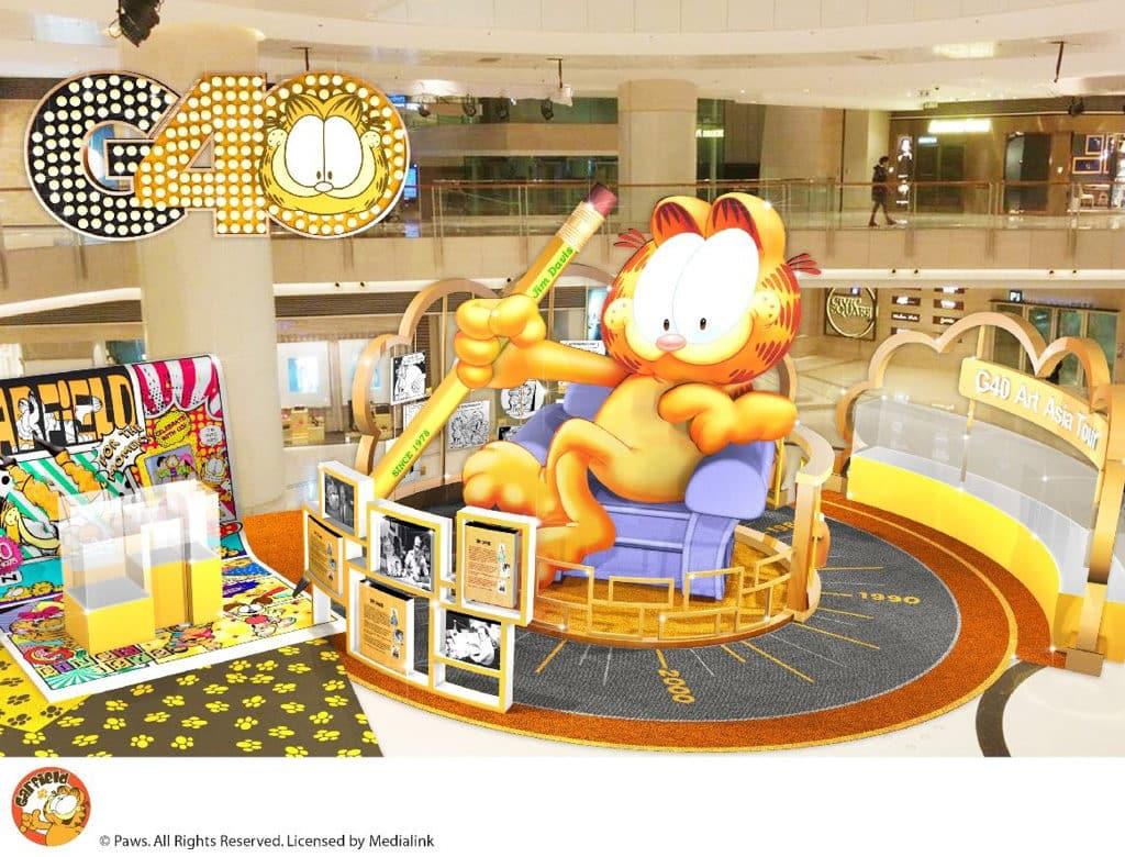 """Glamorous 40:Garfield's Asia Art Tour"" 加菲貓漫畫x藝術跨界聯展"