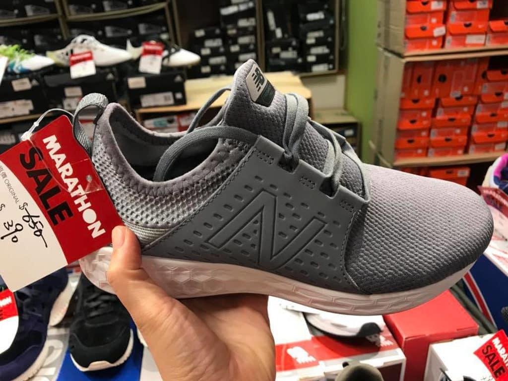 馬拉松開倉推介貨品:New Balance 波鞋 $390 港元