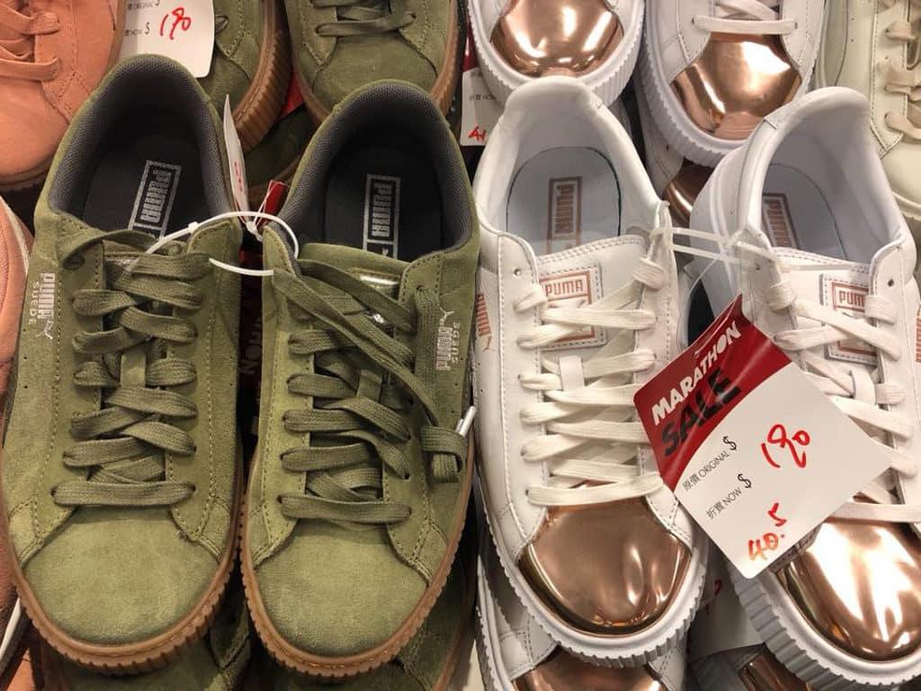 馬拉松開倉推介貨品:Puma 波鞋$190 港元起