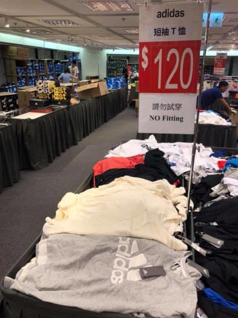 馬拉松開倉推介貨品:Adidas T-shirt 只售 $120 港元