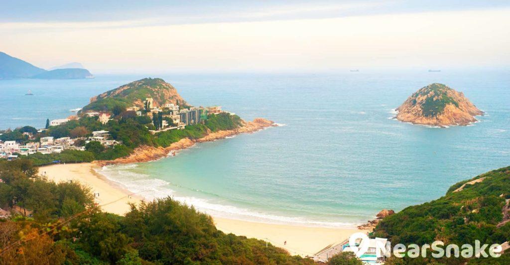 石澳泳灘是位於港島南區的一級沙灘