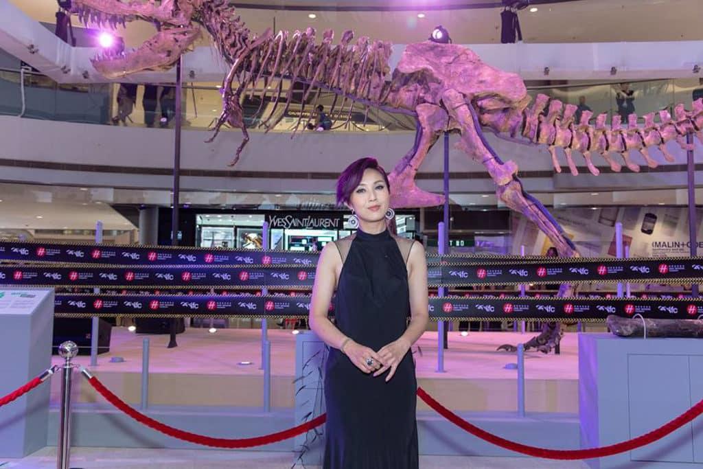 藝人楊千嬅為展覽開幕嘉賓之一。