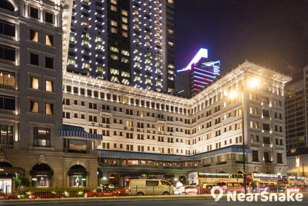 香港半島酒店大堂茶座生日優惠