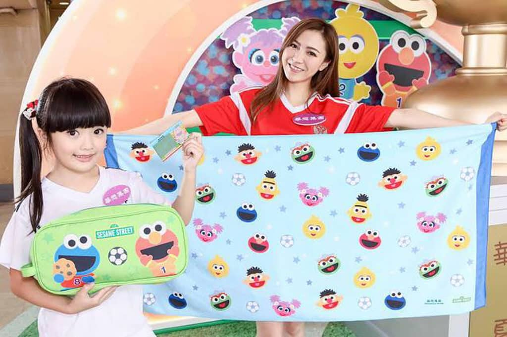 「芝麻街夏日鬥FUN盃」會推出限量「芝麻街 Cute Sports 活力禮品」。