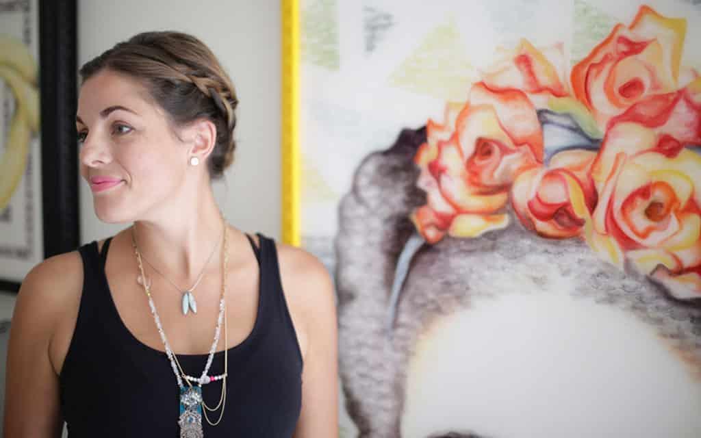 美國「唇印藝術家」Lipstick Lex 將於海港城舉行香港首次個人展覽。
