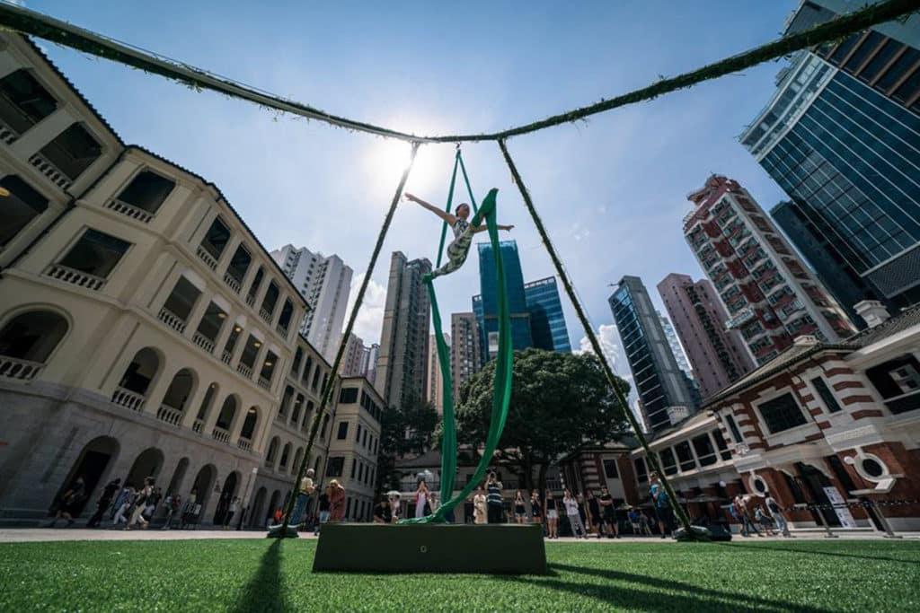 香港馬戲團將於 6 月份週末及端午節假期在大館監獄操場上進行表演。