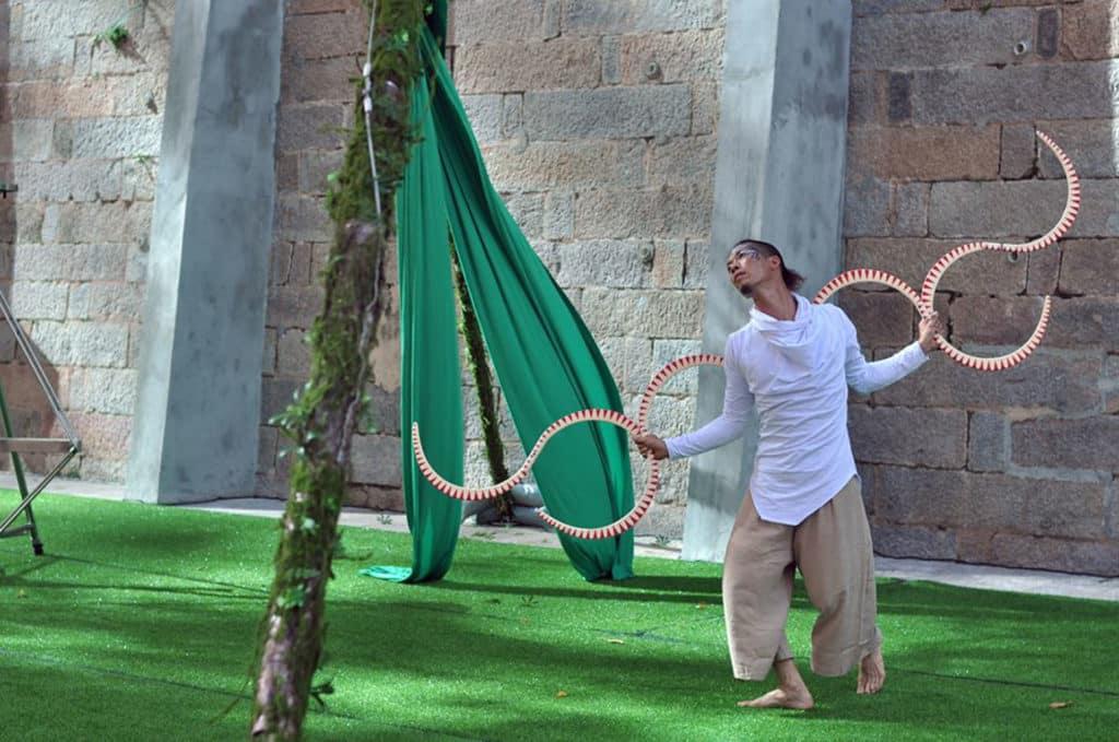 在大館舉行的「大細路小馬戲」將由香港馬戲團擔綱演出。