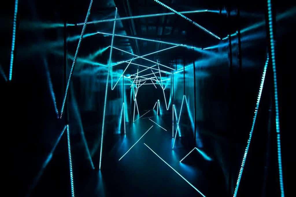 the pulse「秘密星球奇幻之旅」結集音感、視效、互動科技而成的隱藏空間。