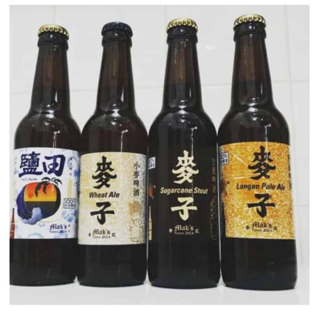 麥子 Mak's Beer 注入水果的啤酒