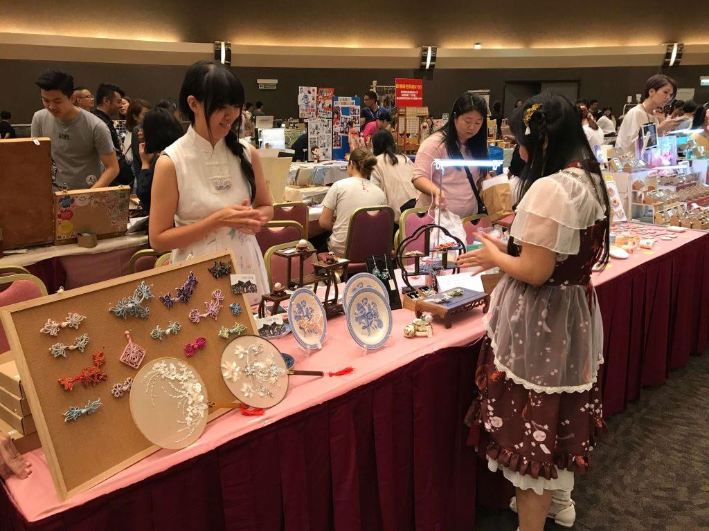 第四屆香港手作及設計展會場內將有超過 200 個手作攤位參展。