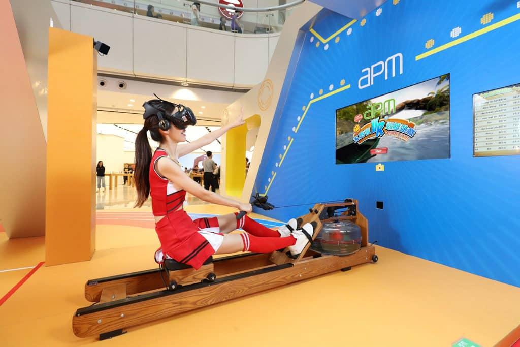 apm:數碼運動潮人學堂 五感官體感虛擬實境划艇