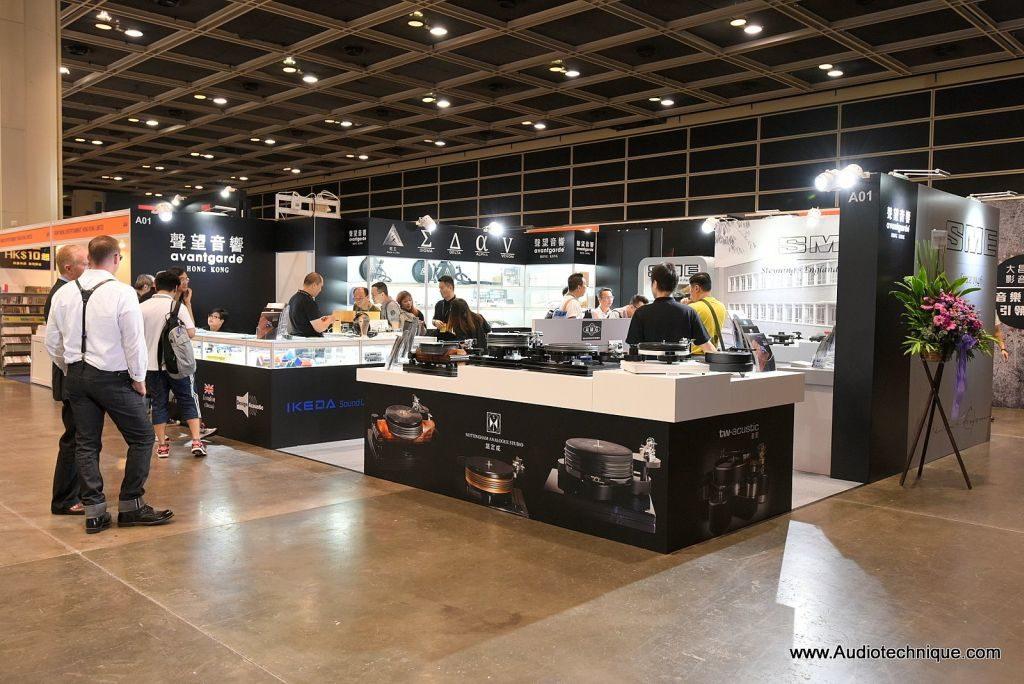 歷屆香港高級視聽展均會展出不同品牌的高級影音器材。
