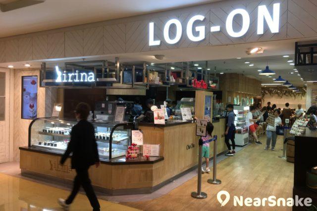 太古城中心 LOG-ON 概念店內新開設了全港首間 LOG-ON Café。