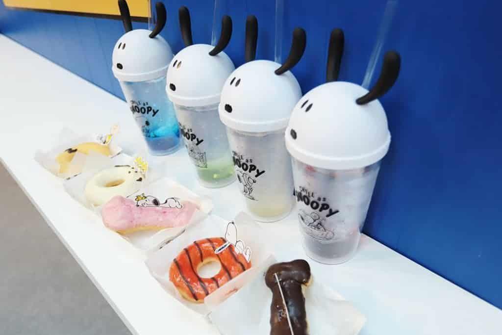 "DING DONG宅配便 ☓ LOG-ON ""Chill"" as Snoopy 限定店: 會場限定Snoopy造型冬甩及泡芙"