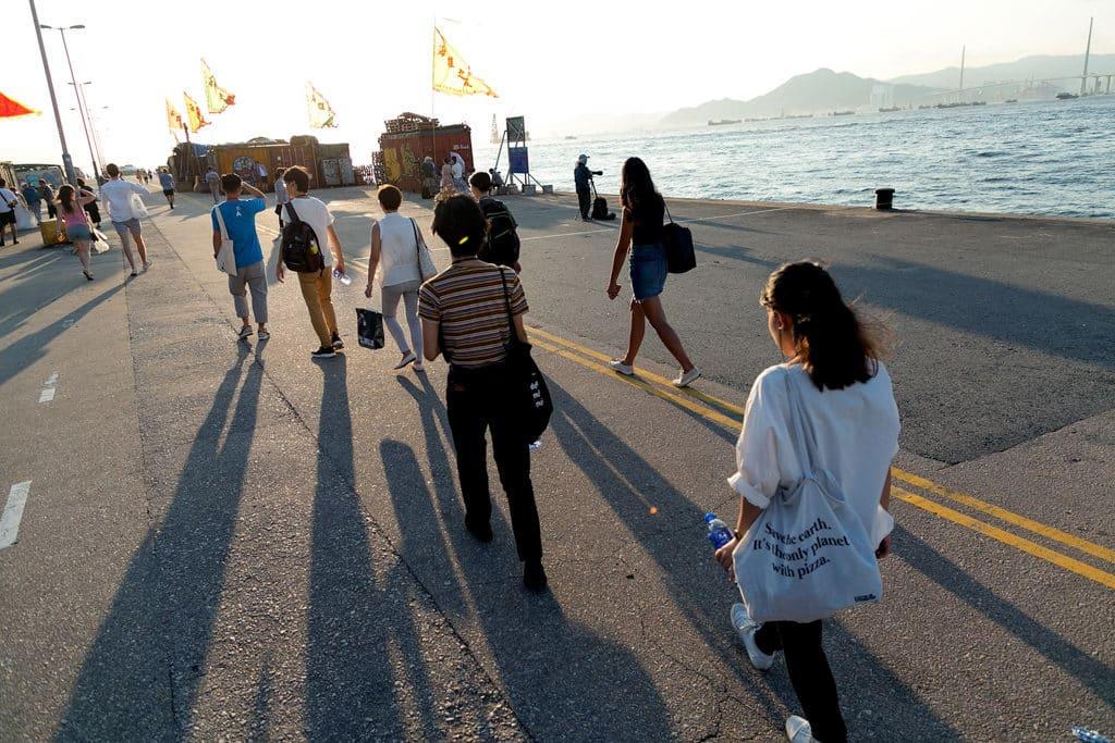 跨界大龍鳳藝術節的城市探索旅程,會帶領參與者遊走中西區的海岸線。