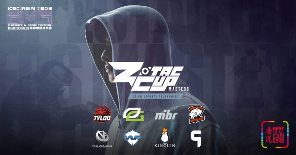 香港電競音樂節 2018 ZOTAC CUP MASTERS《CS:GO》盃賽全球總決賽2018