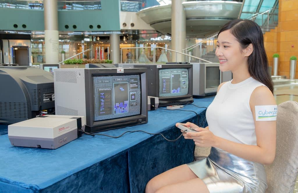 數碼港:仲夏電競鬥一番 場內可免費試玩多款經典方塊電子遊戲。