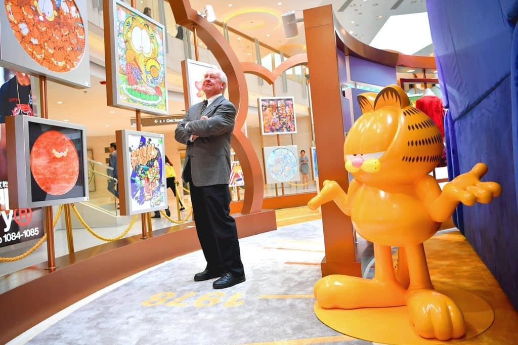 圓方:加菲貓漫畫 × 藝術跨界聯展