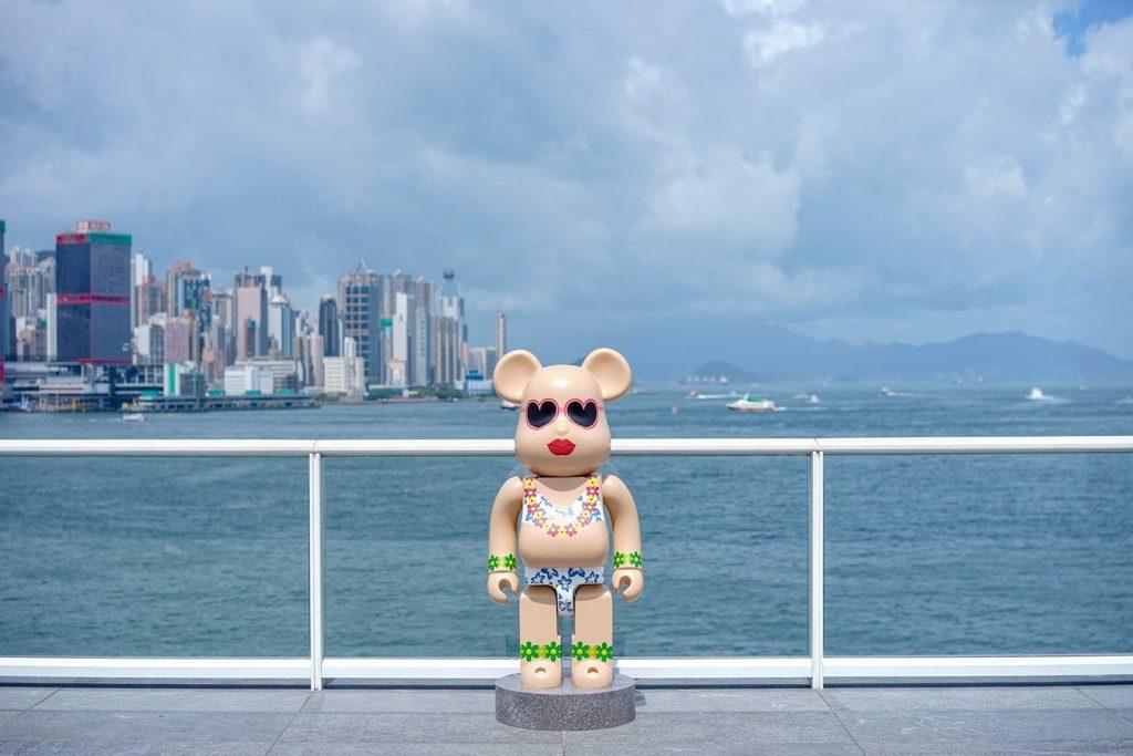 在海港城海運觀點觀景台可飽覽 270 度維港景色。