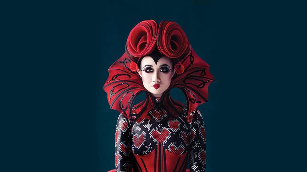 《愛麗絲夢遊仙境》芭蕾舞劇服飾展覽及巡遊: 婀娜多姿的紙牌人