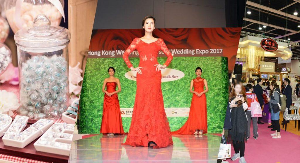 香港婚紗暨結婚用品博覽表演台將會上演緍紗晚裝 Catwalk Show,模特兒分別穿上緍紗、晚裝及裙褂行貓步。