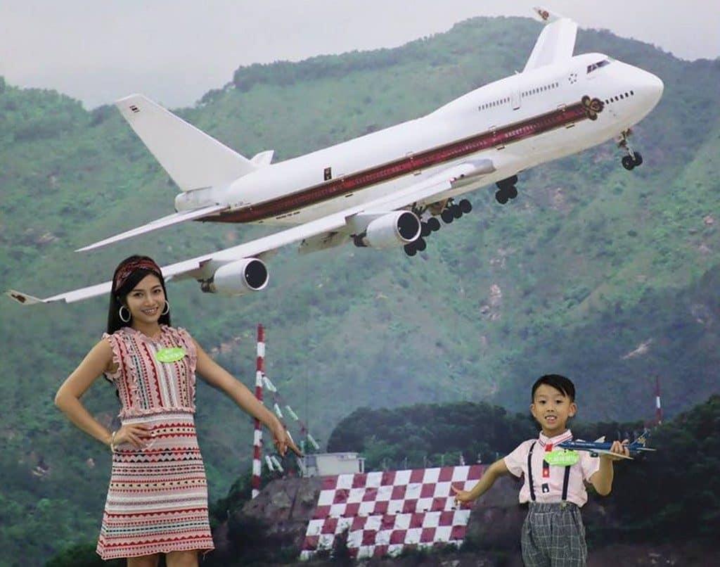 原名九龍仔山的格仔山,可說是啟德機場的一個特色標記。