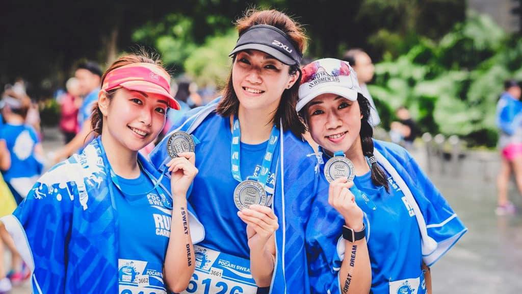 科學園:Pocari Sweat Run Carnival 2018 跑手可獲賽事限定完成獎牌。