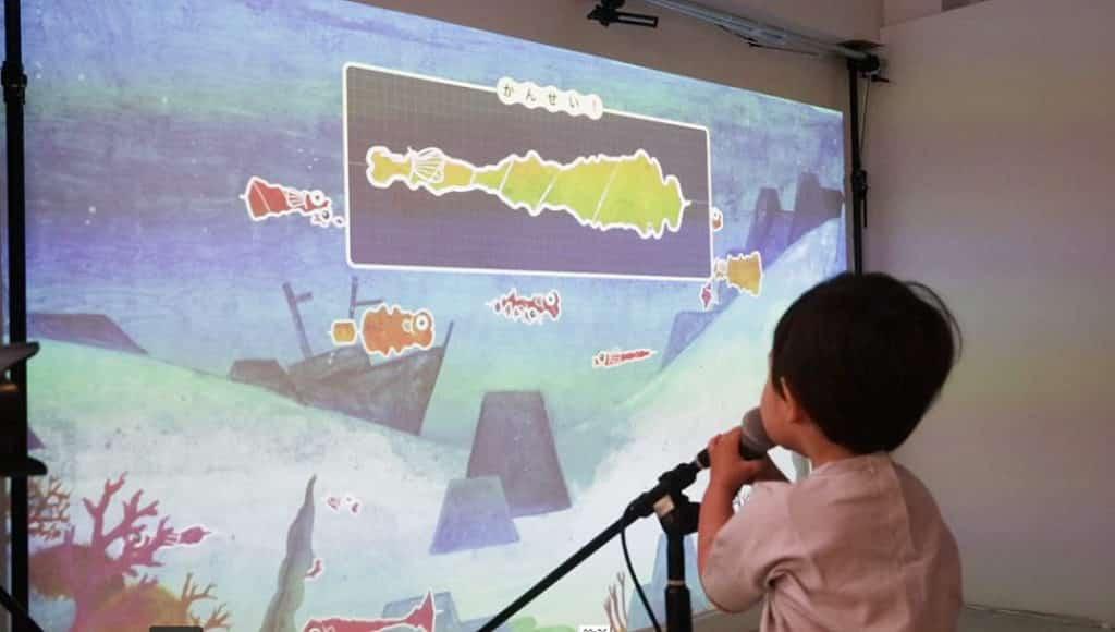 PopCorn X NAMCO ぱぱぱParty玩!玩!玩!體驗館:《Voice Aquarium 聲Sing水族館》