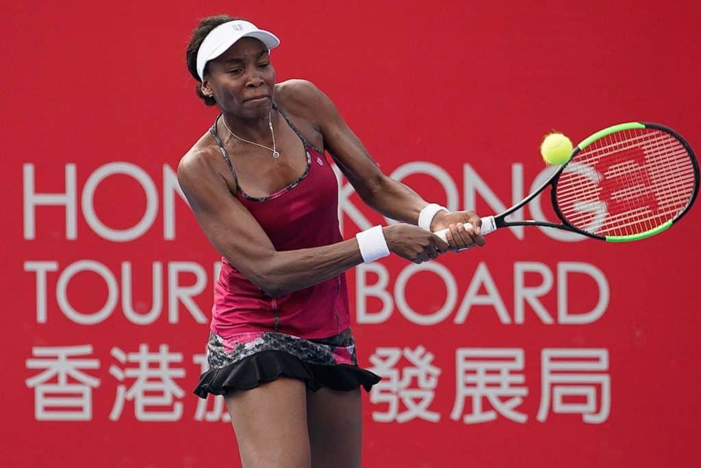 保誠香港網球公開賽 2018 - 雲露絲威廉絲去年亦有參加保誠香港網球公開賽。