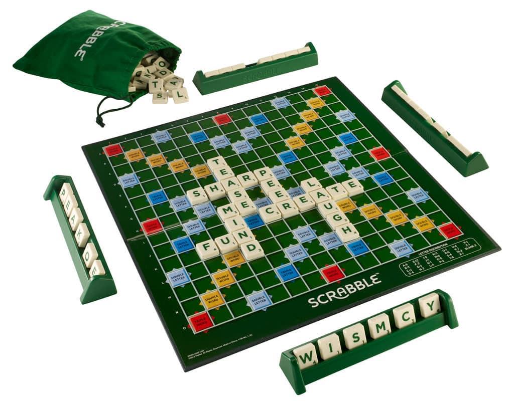 SCRABBLE 70周年香港挑戰賽:普通版Scrabble