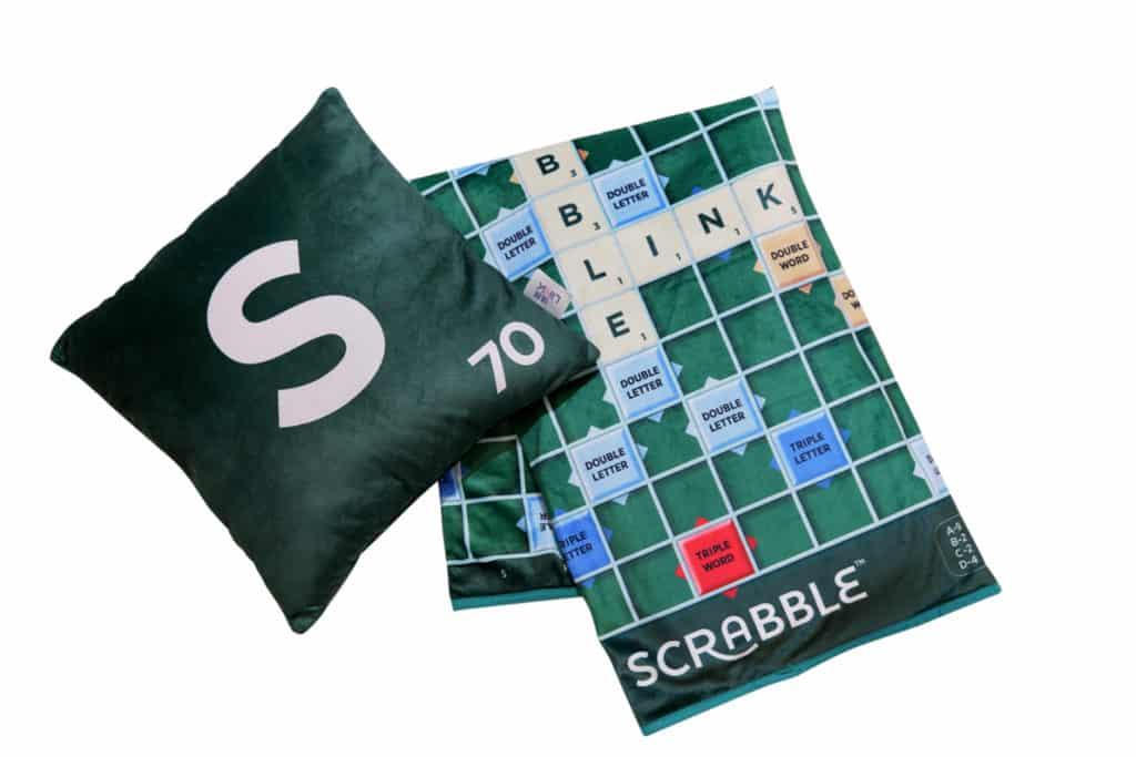 SCRABBLE 70周年香港挑戰賽:Scrabble 2合1毛毯咕𠱸