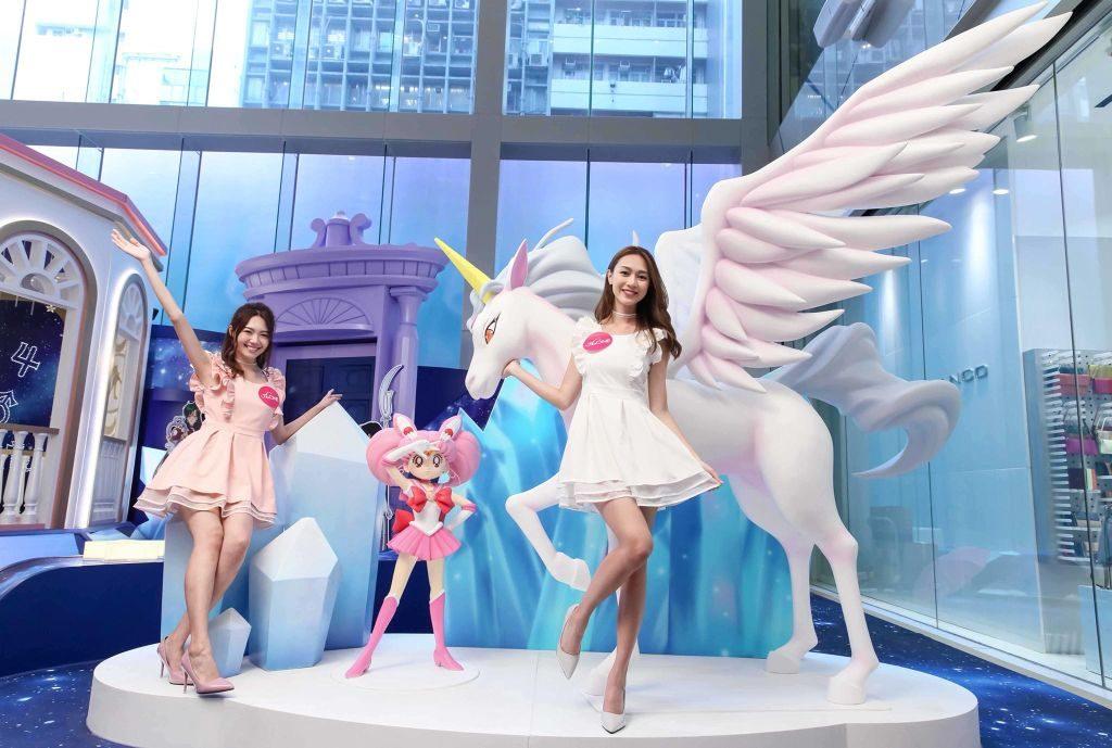 月野兔女兒小兔在夢中遇見的「獨角馬」,亦會降臨「The ONE × Sailor Moon 月光傳說」會場。