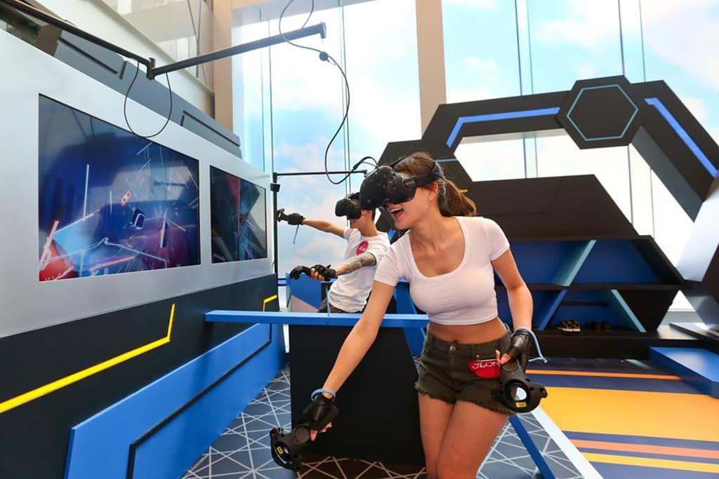 The ONE:「『型』新APP.VR大激戰」遊戲擂台 Beat Saber 光劍狂舞