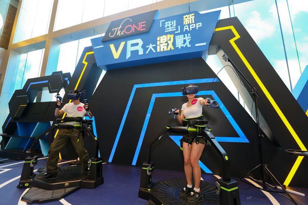 The ONE:「『型』新APP.VR大激戰」遊戲擂台 VR Omni 暴打喪屍