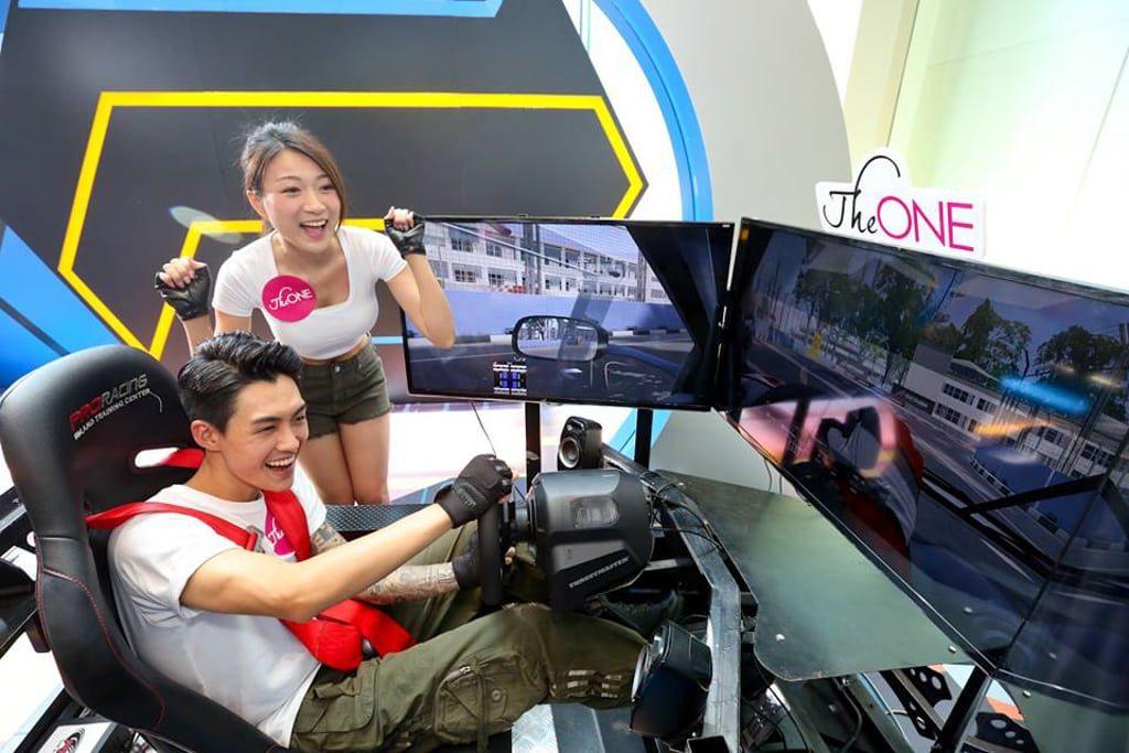 The ONE:「『型』新APP.VR大激戰」遊戲擂台 ProRacing 極速賽車