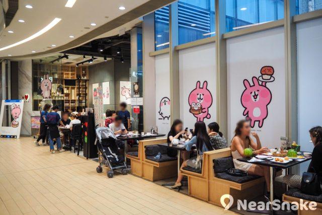 位於 The One 商場三樓的點心代表,每期都會換上不同卡通人物吸引食客,除了佈置,就連菜式都會採用相關主題。