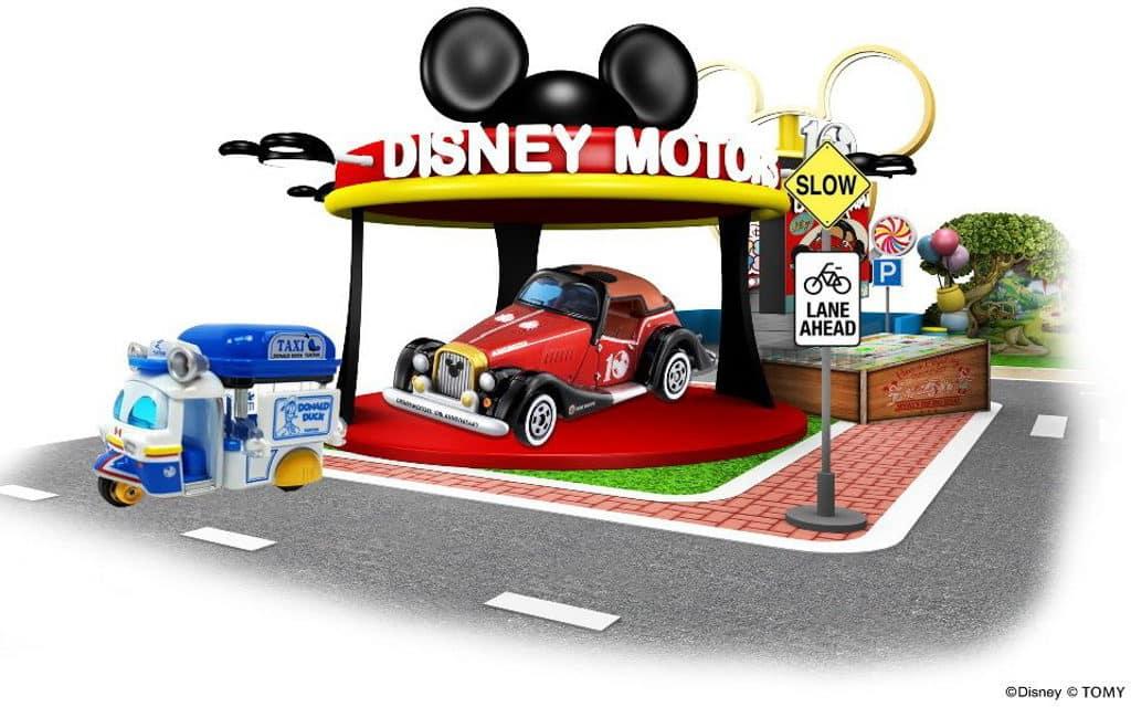 屯門市廣場:「TOMICA奇妙夢車場」裝置及期間限定店-「米奇老鼠」區