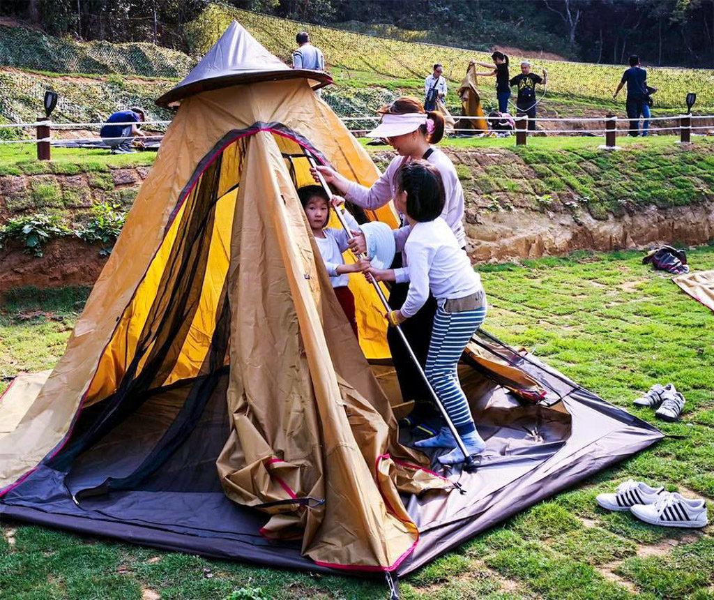 夏日兒童自理露營