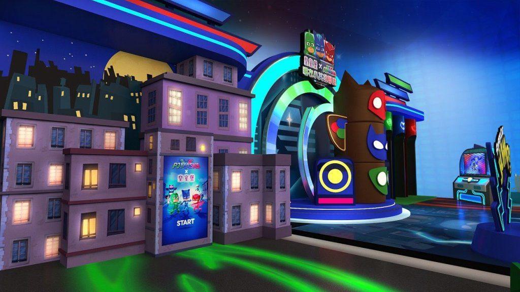 銅鑼灣皇室堡內將開設「PJ Masks 睡衣小英雄聯盟期間限定店」,為一眾小英雄添置裝備,抵擋惡勢力。