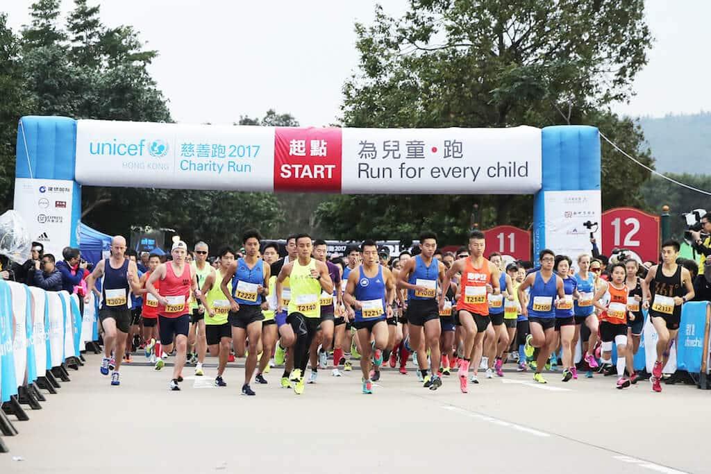 由聯合國兒童基金香港委員會主辦的聯合國兒童基金會慈善跑今年踏入第13個年頭。