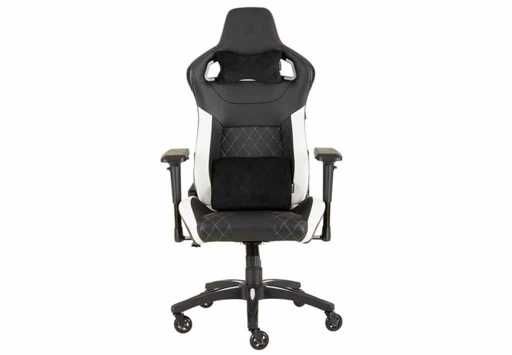 腦場電腦節2018優惠:CORSAIR T1 RACE GAMING CHAIR 電競專用椅 — 優惠價:$1(原價:$2,488)|數量:1 部