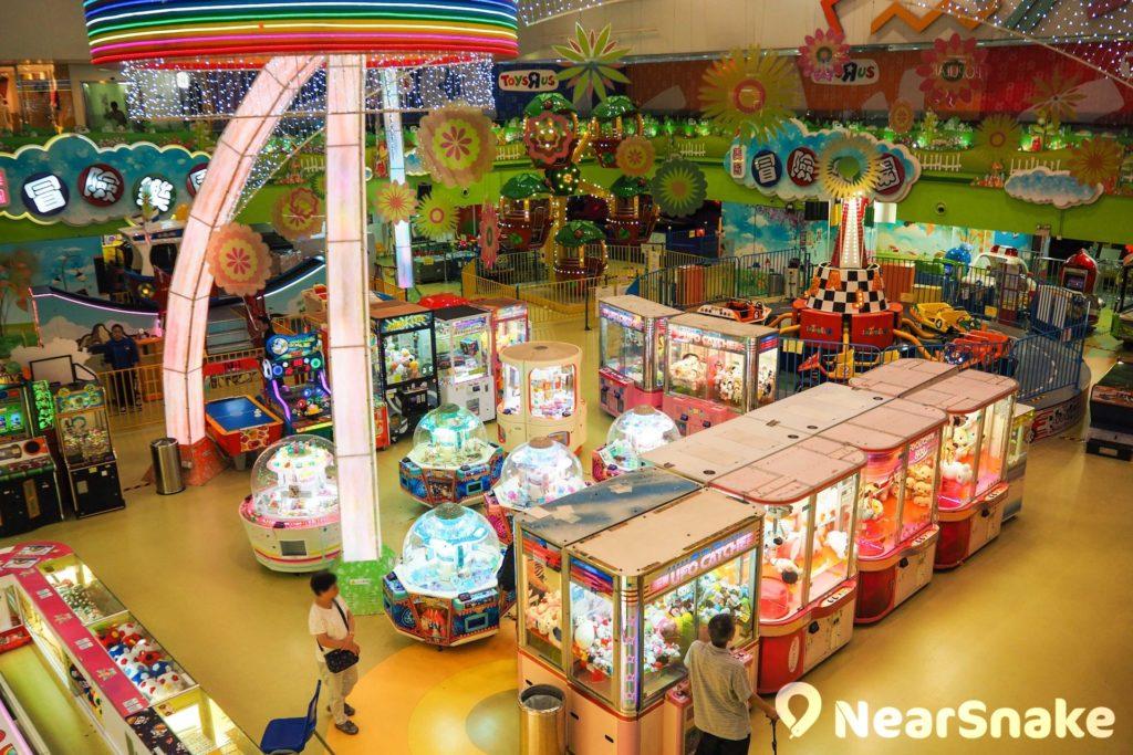 黃埔新天地聚寶坊是小朋友的玩樂天地,內裡有冒險樂園和玩具反斗城,肯定會玩個樂而忘返。