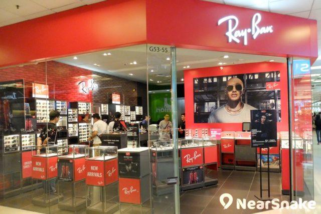 想不到太陽眼鏡品牌「Ray Ban」也有在淘大商場開設專門店。
